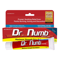 Dr. Numb Best Numbing Cream For Right Pain Relief