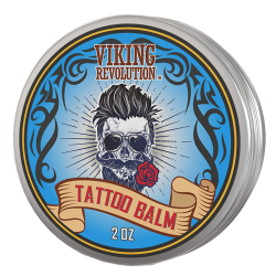 Viking Revolution Tattoo Care Balm for Before, During & Post Tattoo