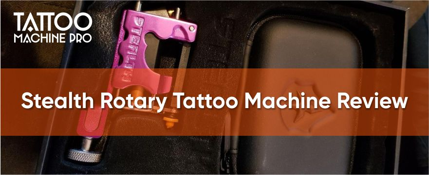 Stealth Rotary Tattoo Machine Review
