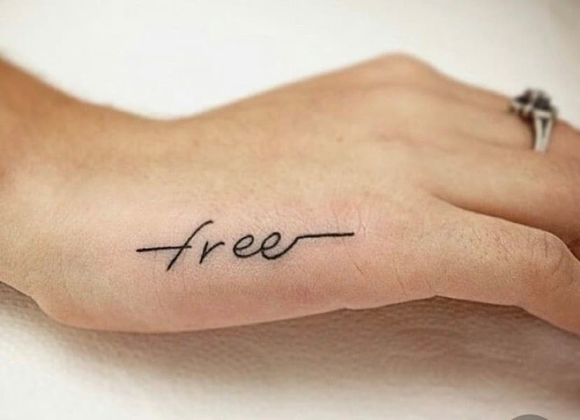 Freedom-Inspired-Small-Finger-Tattoo
