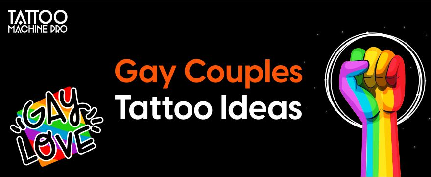 Gay Couples Tattoo Ideas - Latest Designs