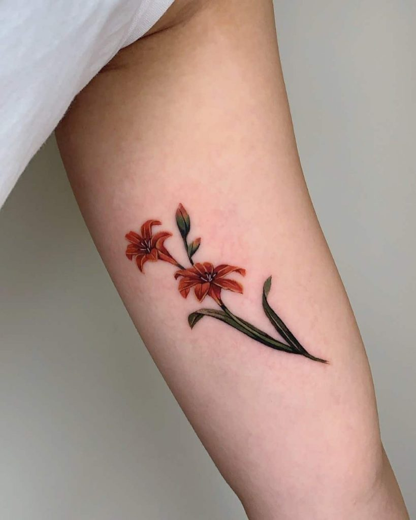 Small-Flower-Tattoos-Over-Forearm