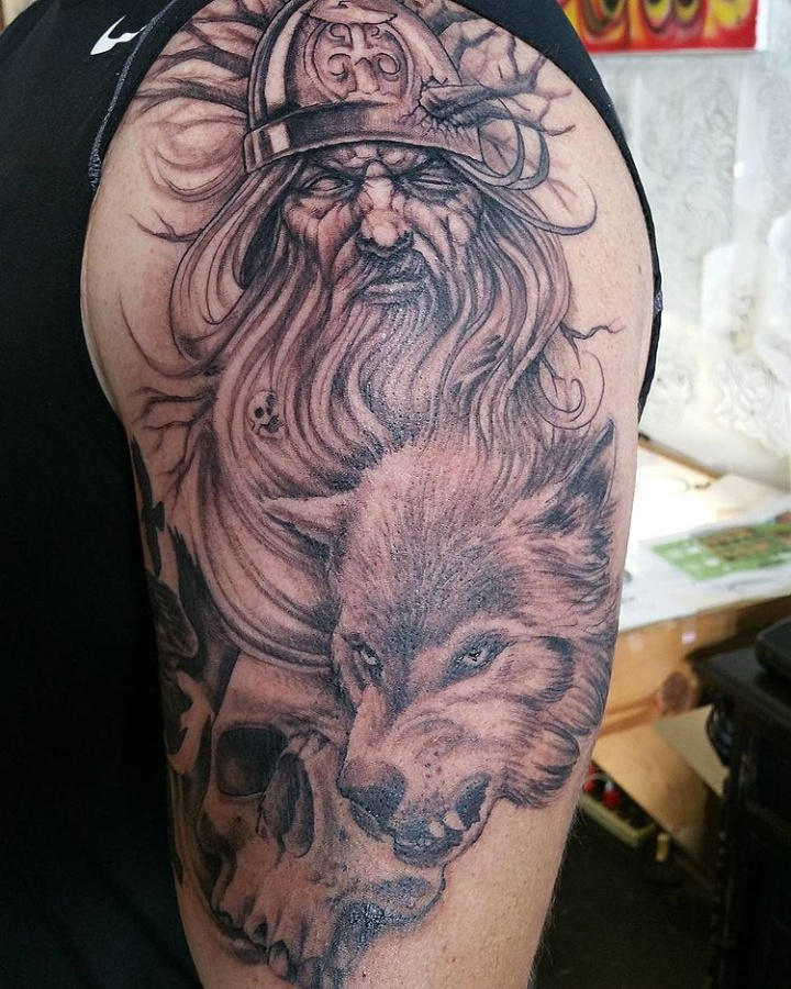 Odins-Wolves-Tattoos