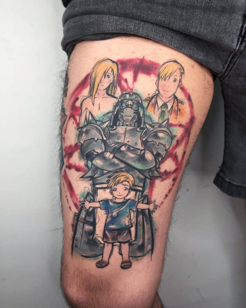The Elric Brothers – Eric and Alphonse