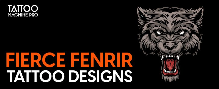 11 Ultimate Fierce Fenrir Tattoo Collection with Meanings