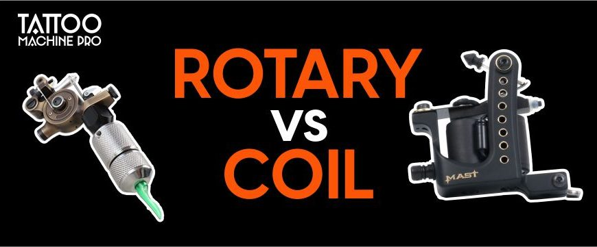 Rotary vs Coil Tattoo Machine – What's Difference?